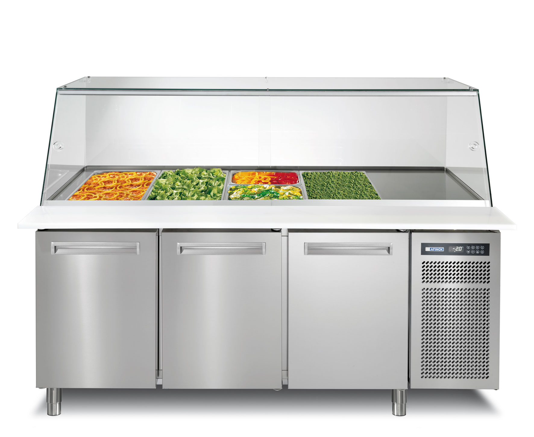 Tavoli refrigerati, refrigerated tables, mesas refrigeradas