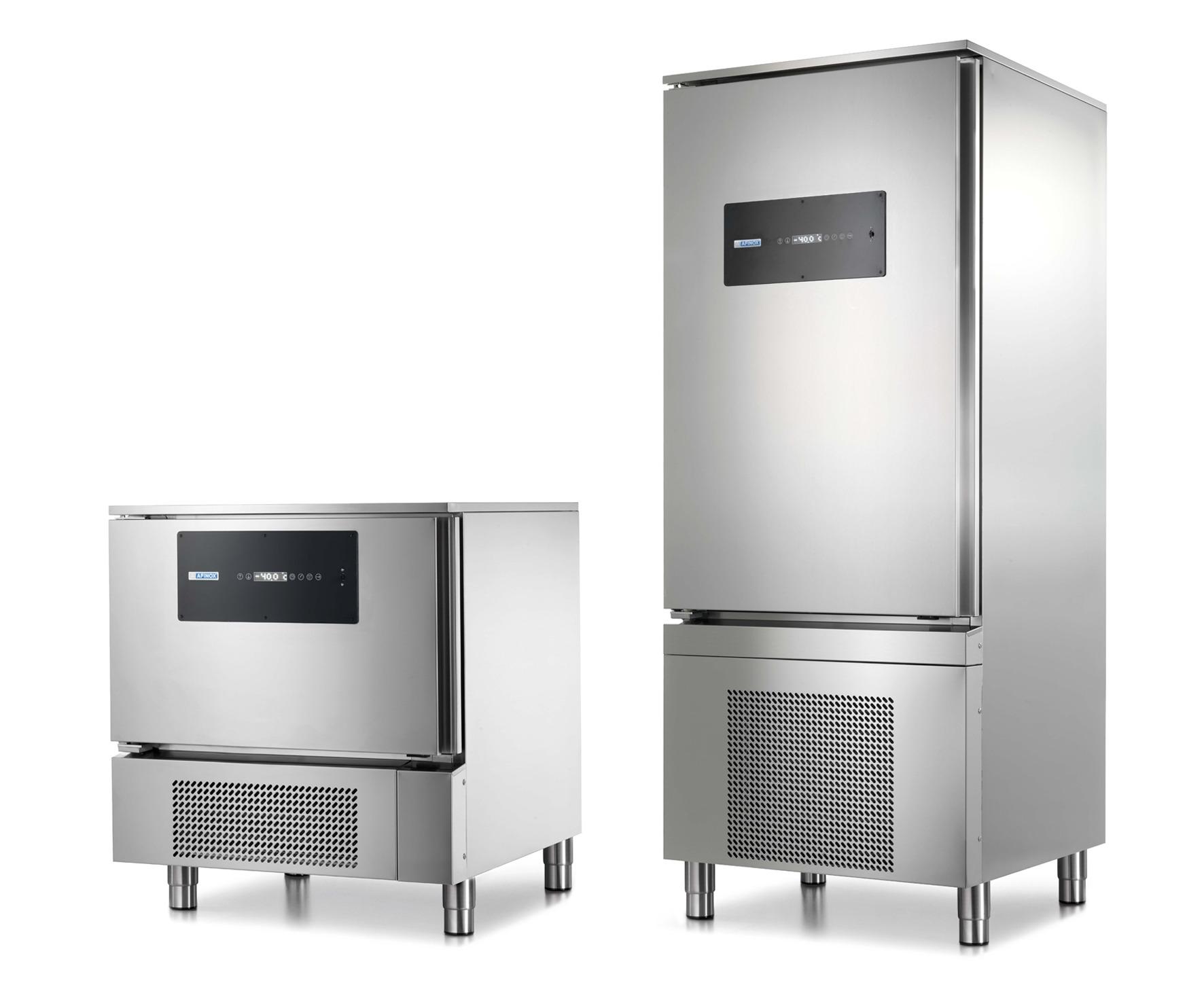 abbattitori e surgelatori rapidi di temperatura, blast chillers and shock freezers, Schnellabkühler und schockfroster, cellules de refroidissement rapide