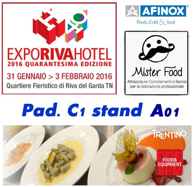 Expo Riva Hotel 2016 - quarantesima edizione