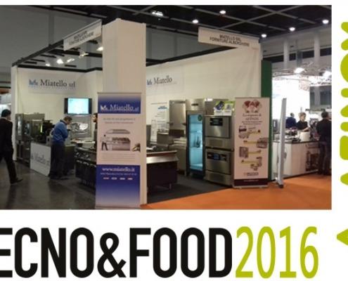 Afinox - TECNO&FOOD 2016