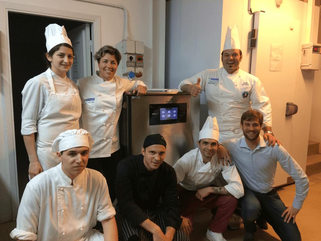 La cucina della Tenuta Artimino scopre Infinity