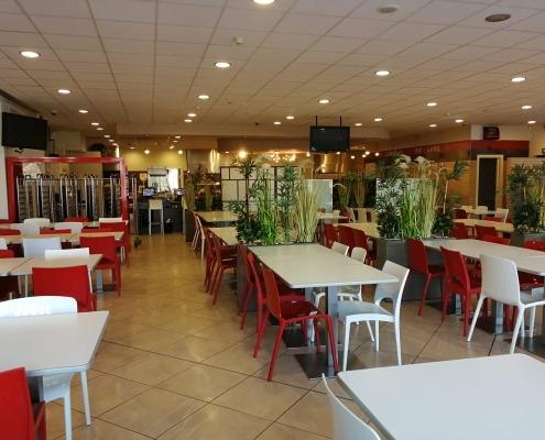hotel maranello village, pit lane restaurant