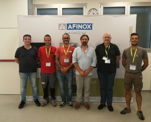 training tecnico afinox, afinox technical training