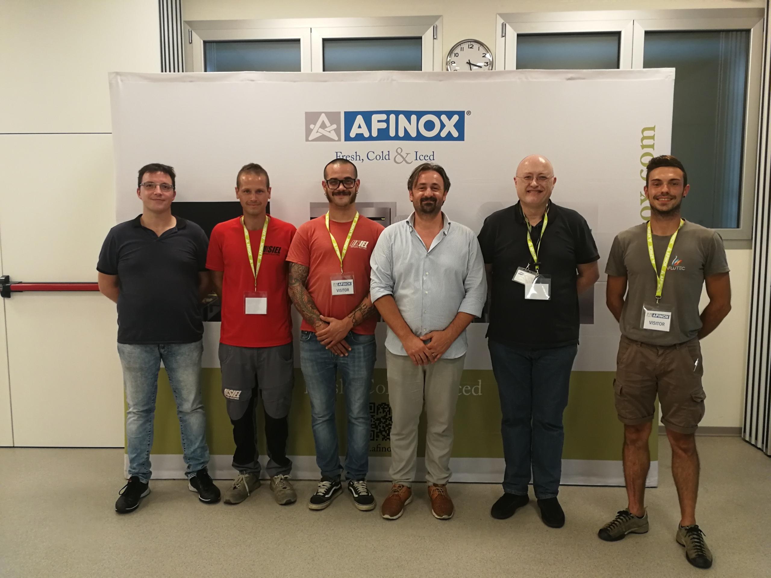 training tecnico afinox